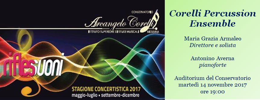 corelli percussion ensemble fb